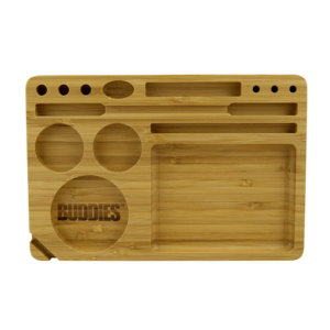 Buddies Tool Set 15-In-1 Bamboo Rolling Tray
