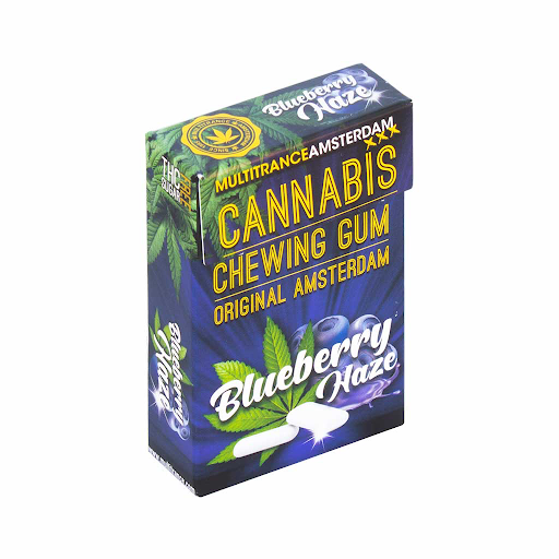 Blueberry Haze Cannabis Chewing Gum