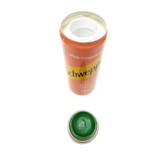 Pink Tonic Water Aluminium Smart Stash Can