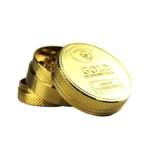 Gold Gangster Metal Grinder 3 Parts – 40mm