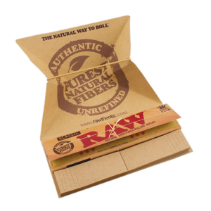 RAW Artesano Kingsize Slim Rolling Papers + Tips + Tray