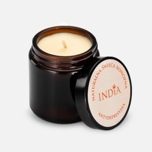 India Therapy Hemp Candle 90g