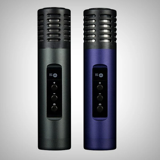ARIZER AIR II BLACK AND BLUE DRY HERB VAPORIZER