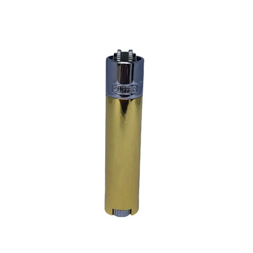 CLIPPER GOLD AND SILVER METAL LIGHTERS