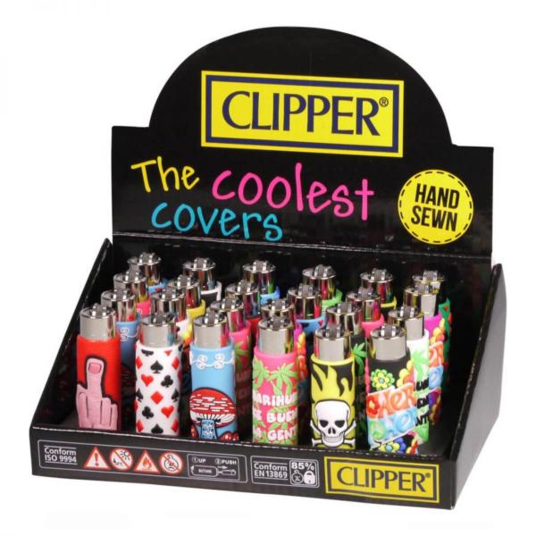 CLIPPER MIX-GO 1 SILICONE COVER LIGHTERS