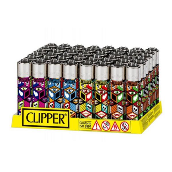 CLIPPER X PATTERNS LIGHTERS