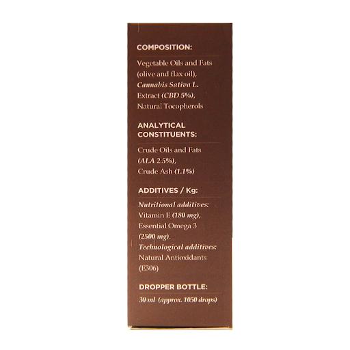 ENECTA 5% 1500 mg OIL PETS WITH OMEGA 3 AND VITAMIN E 30ml