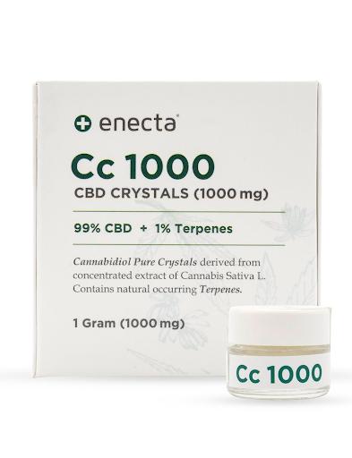 ENECTA CC 1000 1000mg CBD CRYSTALS (1g