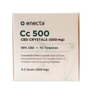 ENECTA CC 500 500mg CBD CRYSTALS (0.5g)
