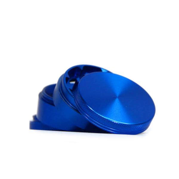FULLY ALUMINIUM BLUE GRINDER 50MM - 4 PARTS