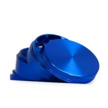 Moedor mecânico de alumínio azul