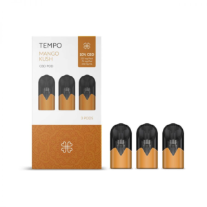 HARMONY TEMPO MANDO KUSH 3 PODS 3 PODS PACK 222mg (3x74mg)