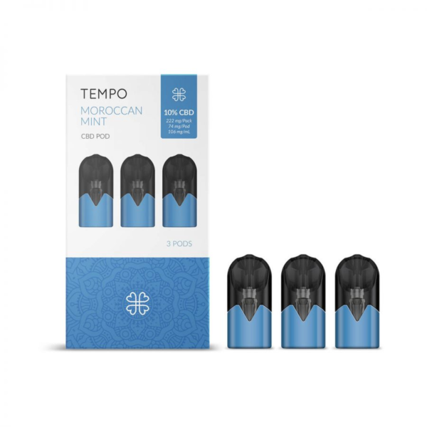 HARMONY TEMPO MORROCAN MINT 3 PODS 3 PODS PACK 222mg (3x74mg)