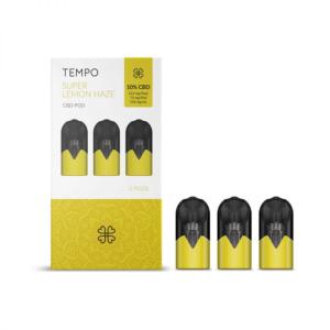 HARMONY TEMPO SUPER LEMON HAZE 3 PODS 3 PODS PACK 222mg (3x74mg)