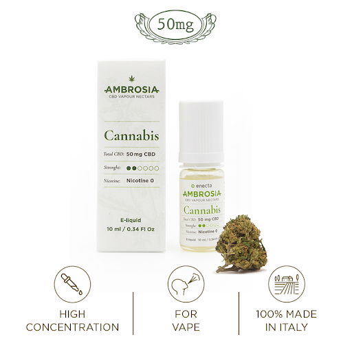 ambrosia 50mg cannabis