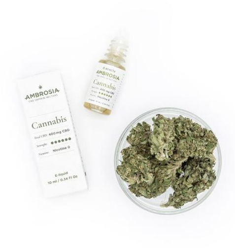 ambrosia cannabis 400 mg cbd