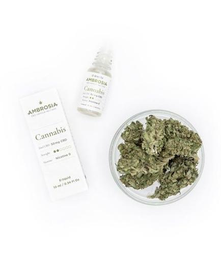 cbd cannabis ambrosia e-liquid