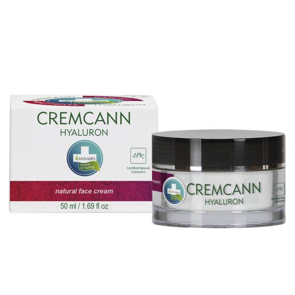 Annabis Cremcann Hyaluron Natural Hemp Face Cream 15ml and 50ml