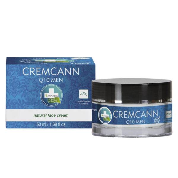 Annabis Cremcann Q10 Men Natural Hemp Face Cream 50ml Hemp Face Cream