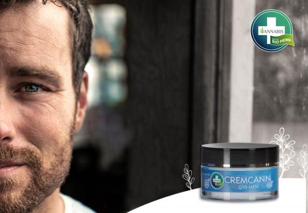 CREMCANN Q10 FOR MEN hemp cream for men q10