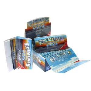 ELEMENTS ARTESANO KINGSIZE SLIM ROLLING PAPERS + TIPS + TRAY