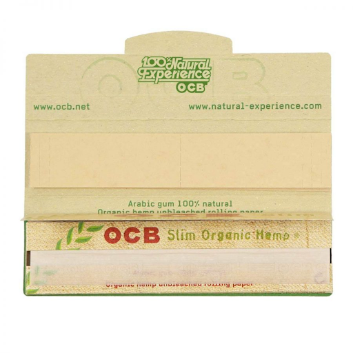 OCB ORGANIC HEMP KINGSIZE ROLLING PAPERS + FILTER TIPS