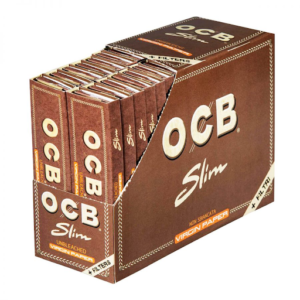 OCB VIRGIN PAPER KINGSIZE ROLLING PAPERS + FILTER TIPS