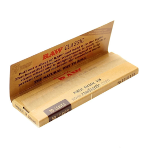 RAW ¼ SLIM CIGARETTE ROLLING PAPERS