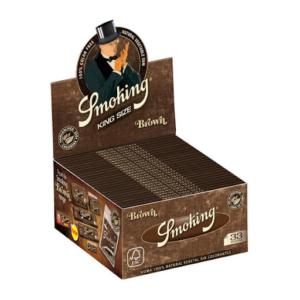 SMOKING BROWN KINGSIZE SLIM ROLLING PAPERS