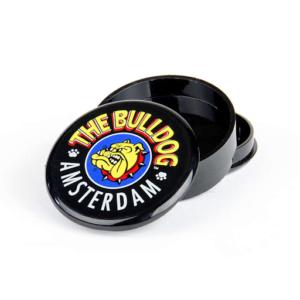 THE BULLDOG ORIGINAL BLACK PLASTIC GRINDER 3 PARTS - 60MM