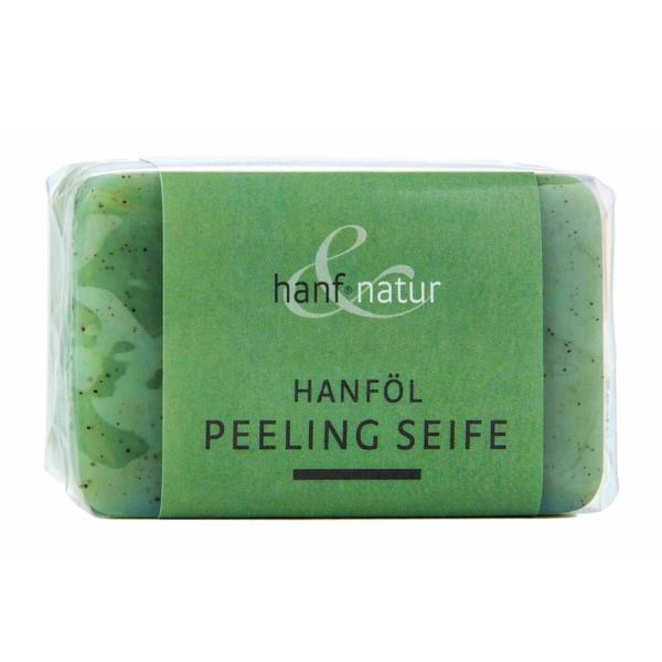 Sabonete para peeling de óleo de cânhamo Hanf Nature 100g