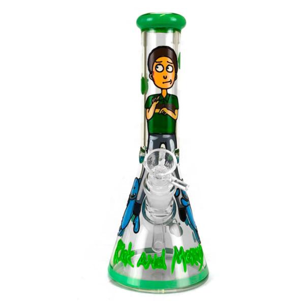 Bongo de vidro artesanal de 25 cm Cartoon Guy
