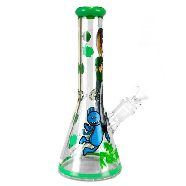 Cartoon Guy Bongo de vidro artesanal de 25 cm